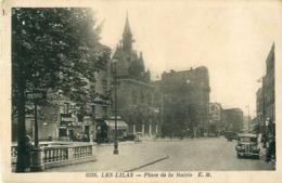 Cpa LES LILAS 93 Place De La Mairie - Terminus Métro Ligne 11, Pharmacie Du Métro - Les Lilas