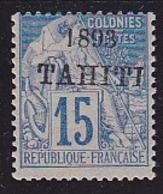 Tahiti N° 24 Neuf ** - Voir Verso & Descriptif - Tahiti (1882-1915)