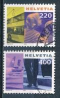 °°° SVIZZERA  Y&T N°1676/77 - 2001 °°° - Svizzera