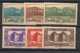 Syrie - 1940 - N°Yv. 254 à 259 - 6 Valeurs - Neuf Luxe ** / MNH / Postfrisch - Syria (1919-1945)