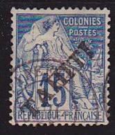 Tahiti N° 12 Oblitéré - Voir Verso & Descriptif - Tahiti (1882-1915)