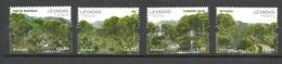 "Portugal Madeira 2008 Artificial Irrigation Channels ""Levadas"" On Madeira, Mi 318-321 MNH(**) - Madère"