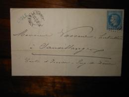 Lettre GC 1840 L'Isle Sur La Sorgue Vaucluse Avec Correspondance - 1849-1876: Période Classique