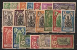 Inde - 1929 - N°Yv. 85 à 104 - Série Complète - Neuf * / MH VF - Indië (1892-1954)