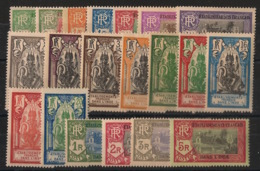Inde - 1929 - N°Yv. 85 à 104 - Série Complète - Neuf * / MH VF - Neufs