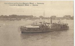 Antwerpen - Anvers - Steamer - Bateau à Vapeur - Stoomboot  - Vue Prise Du Queen's Hôtel - 1927 - Antwerpen