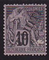 Tahiti N° 11 Neuf * - Voir Verso & Descriptif - Tahiti (1882-1915)