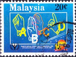 Malaysia - Internationales Jahr Der Alphabetisierung (MiNr: 433 A) 1990 - Gest Used Obl - Maleisië (1964-...)