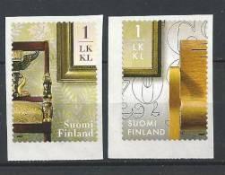 Finlande 2007  Neufs N°1830/1831 Meubles - Finlande