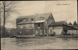 Cp Selles Sur Cher Loir Et Cher, Fluss - France