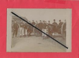 Carte Photo Rétrécit à Confirmer : Correspondance Reims   -(militaires,militaire, Soldat , Soldats Canon , Canons ) - Reims