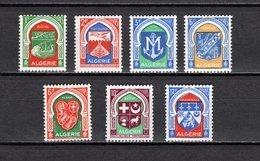 ALGERIE N° 337 à 337F  NEUFS SANS CHARNIERE COTE  9.00€  ARMOIRIE - Algeria (1924-1962)