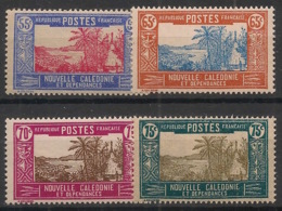 Nouvelle Calédonie - 1928-38 - N°Yv. 150A - 151 - 151A - 152 - 4 Valeurs - Neuf Luxe ** / MNH / Postfrisch - Ungebraucht