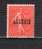 ALGERIE  N° 28   NEUF AVEC CHARNIERE COTE 1.00€  TYPE SEMEUSE - Algeria (1924-1962)