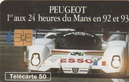 FRANCIA. Peugeot 905 6 - Voiture De Face. 50U. 0403. 07/93. (200). - Sport