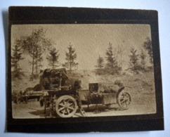 "PHOTO VERDUN - GUERRE 14/18 WW1 - MILITARIA - ""L'AUTO-CANON. 1ère PIECE"" - Oorlog, Militair"