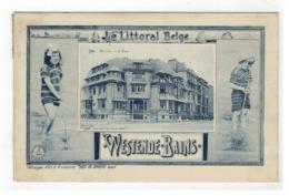 WESTENDE-BAINS  Westende - La Digue  Le Littoral Belge Héliotypie D'art Et D'industrie THEO DE GRAEVE Gand 1913 - Westende