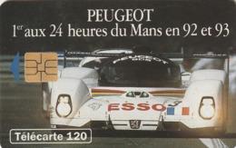 FRANCIA. Peugeot 905 6 - Voiture De Face. 120U. 0404. 07/93. (201). - Sport