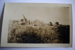 PHOTO VERDUN - GUERRE 14/18 WW1 - MILITARIA - L'AUTO-CANON EN POSITION DE TIR - Oorlog, Militair