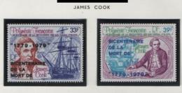 W36 Polynésie °°  PA 142/143 James Cook - Poste Aérienne