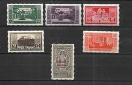 Somalie Italienne 1929      Cat   YT   N° 120, 121, 122, 124, 126  N* MLH - Somalie
