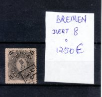 ALEMANIA  BREMEN - SELLO MATASELLADO (1)   IVERT 1250€ - Allemagne