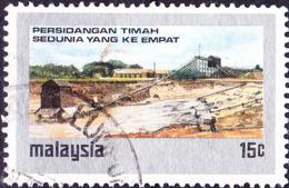Malaysia - Welt-Zinn-Konferenz (MiNr: 124) 1974 - Gest Used Obl - Maleisië (1964-...)