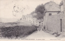 CPA :  14 X 9  -  162  -  SAINT-PIERRE-QUILBIGNON  -  La  Grande Rivière  (tampon Militaire Au Verso) - Sonstige Gemeinden