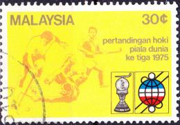 Malaysia - 3. Hockey-Weltmeisterschaft (MiNr: 127) 1975 - Gest Used Obl - Maleisië (1964-...)