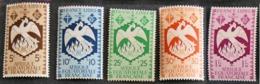 FRANCE COLONIES - AEF YT N° 141 142 143 144 147 Neuf* - Unused Stamps