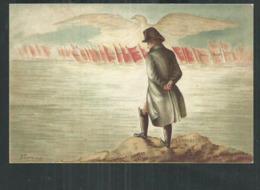 Carte Pub Chicorées Extra Williot Sablé Sur Sarthe; Napoléon Bonaparte En Exil - Geschiedenis