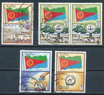 °°° ERITREA - Y&T N°417/19/20/21/23 - 2000 °°° - Eritrea
