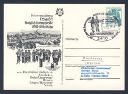 Deutschland Germany 1979 Karte Card - 125 Jahre Königlich Hannoversche Süd-Eisenbah + DB Leistungsschau / Railway - Treinen