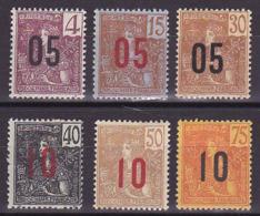 Indochine N° 59 à 64 Neufs * - Voir Verso & Descriptif - - Indochina (1889-1945)