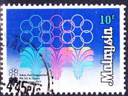 Malaysia - 9. Südostasiatische Sportspiele (MiNr: 168) 1977 - Gest Used Obl - Maleisië (1964-...)
