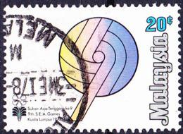 Malaysia - 9. Südostasiatische Sportspiele (MiNr: 169) 1977 - Gest Used Obl - Maleisië (1964-...)