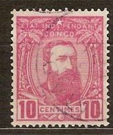 Belgisch Congo Belge 1887 OCBn°  7 (o) Oblitéré  Cote 2,00 Euro - Congo Belge