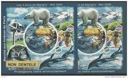 Blocs Marigny 2008  Protection De L'environnement - Other
