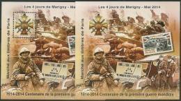 Blocs Marigny 2014  Centenaire 1ere Guerre Mondiale 1914/2014 - Other