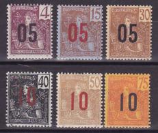 Indochine N° 59 à 64 Neufs ** & * - Voir DESCRIPTIF & Verso - - Indochina (1889-1945)