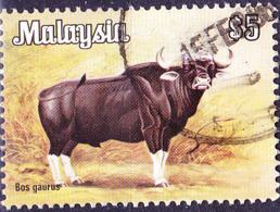 Malaysia - Gaur (Bos Gaurus) (MiNr: 194) 1979 - Gest Used Obl - Maleisië (1964-...)