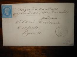 Lettre GC 1814 Huelgoat Finistere Avec Correspondance - 1849-1876: Période Classique