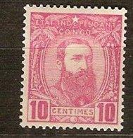 Belgisch Congo Belge 1887 OCBn° 7 (*) MLH - Congo Belga