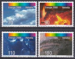 Schweiz Switzerland Helvetia 1997 Energie Energy Elemente Elements Luft Air Feuer Fire Wasser Water Erde, Mi. 1618-1 ** - Schweiz