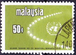 Malaysia - 25 Jahre UNO (MiNr: 75) 1970 - Gest Used Obl - Malaysia (1964-...)