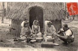 23 - EXPOSITION COLONIALE 1907 - Repas Des Loyaltiens Dans Le Village Canaque. - Nogent Sur Marne