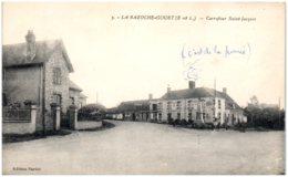 28 LA BAZOCHE-GOUET - Carrefour Saint-Jacques - Autres Communes