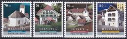 Schweiz Switzerland Helvetia 1997 Pro Patria Vaterland Kultur Culture Architektur Bauwerke Buildings, Mi. 1611-4 ** - Switzerland