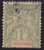 Indochine N° 15 Oblitéré - Voir Verso & Descriptif - - Used Stamps
