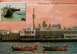 !  Moderne Ansichtskarte, Dubai, UAE, Trucial States, 2003 - Dubai
